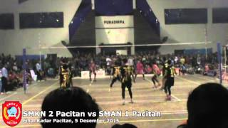 Final Radar Pacitan, SMKN 2 Pacitan vs SMAN 1 Pacitan