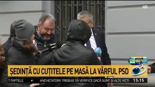 """Dragnea și Tudose, față în față la ședința CEX al PSD. Oprișan: """"Este nevoie de o restruc"""