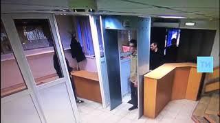 Запись с камер видеонаблюдения со здания УМВД Нижнекамска