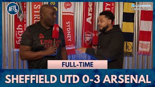 Sheffield United 0-3 Arsenal | Win On Thursday Arteta Or You're Done! (Troopz)