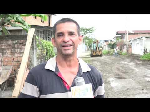 Microinformativo Yo Soy de Chone - Inician trabajos en calle La Paz