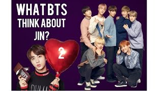 What Bts Think About Jin 2 | Jungkook Wants To Protect His Hyun | Fake Subs