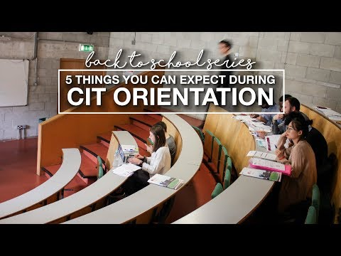 5 things you can expect during CIT orientation | STUDY ABROAD IN IRELAND