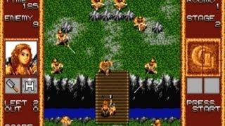 CGRundertow GAIN GROUND for Sega Genesis Video Game Review