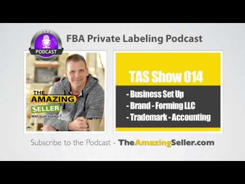 What Do I Need To Set Up My Amazon Business? (Trademark – Llc -Accounting) - TAS Show Ep. 14