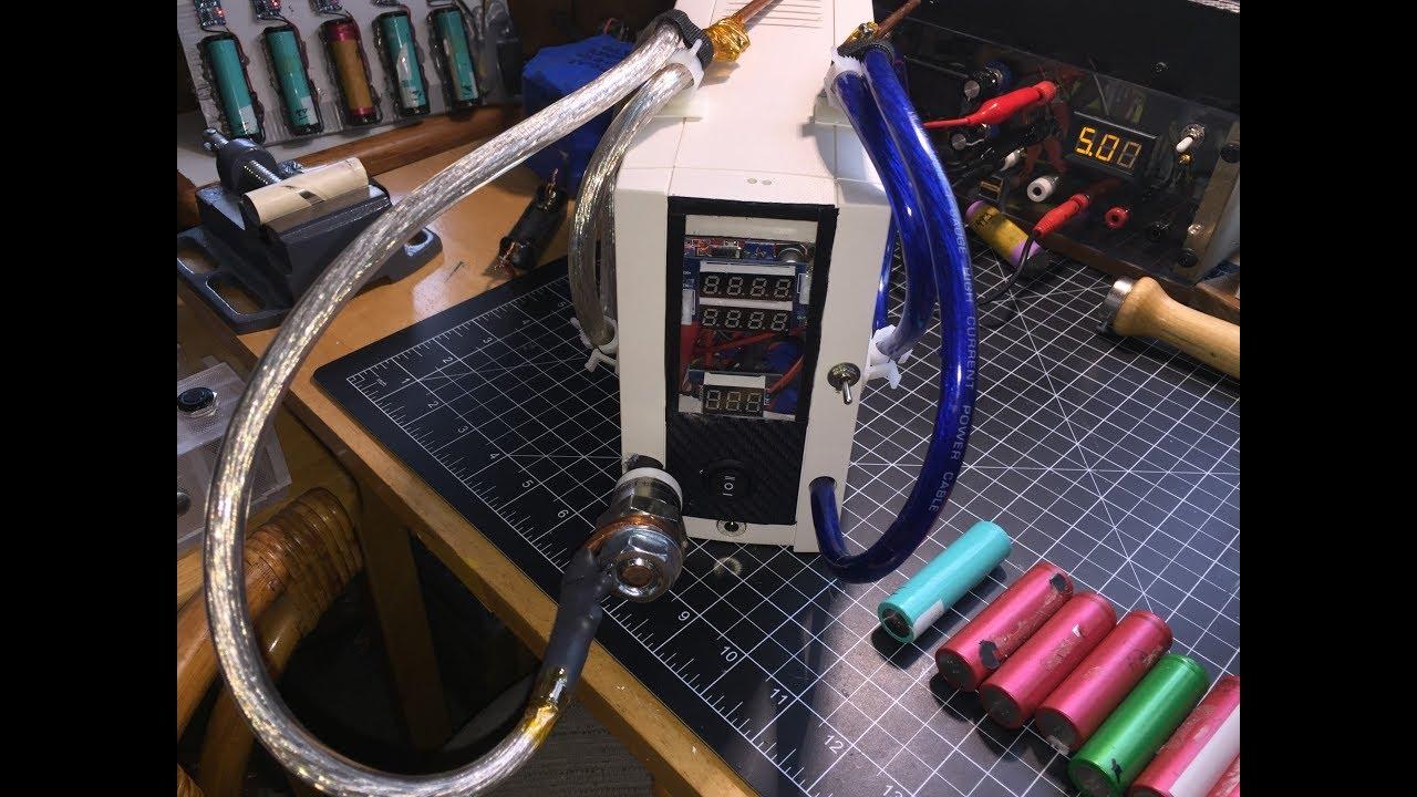 Diy Capacitive Discharge 18650 Spot Battery Welder 6 Youtube Rrsspdt Spdt Round Rocker Switch