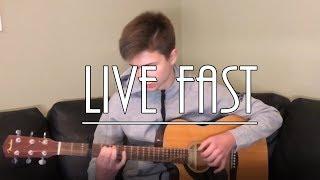 Alan Walker x A$AP Rocky - Live Fast (PUBGM) [Fingerstyle Guitar Cover)
