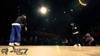 Movie One vs AT  Hip Opsession 7 Bgirl 1on1 Final Battle 2011 YAK FILMS