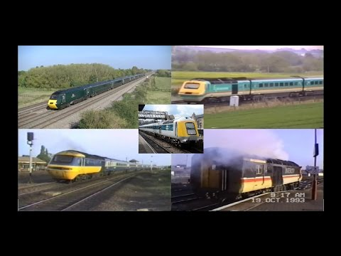 UK Trains 1986 2016   InterCity 125 HST At 40