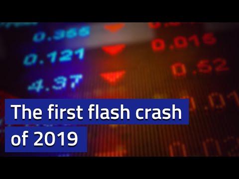USDJPY leads a mini flash crash in FX markets