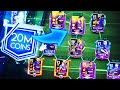 20 MILLION COINS UPGRADE TEAM - BIGGEST TEAM UPGRADE /FIFA MOBILE 19