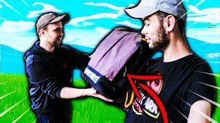 OLIVIER M'A OFFERT UN MEGA CADEAU FORTNITE BATTLE ROYALE !!!