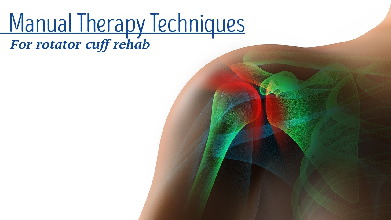 Manual Therapy Techniques For Rotator Cuff Rehab Youtube