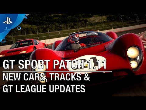 Gran Turismo Sport - Patch 1.11: New Cars, Tracks, & GT League | PS4