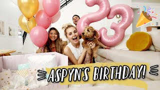 ASPYN\'S 23RD BIRTHDAY! LAST BIRTHDAY WITH NO BABY!