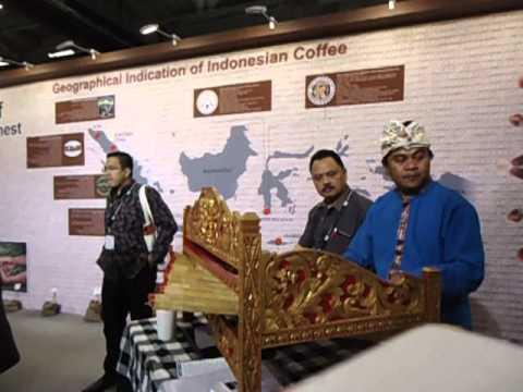 Ciaaattt...Rindik Bali at Guthenburg Coffee EXPO