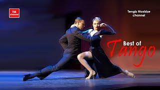 "Tango ""El huracan"". Sergey Kurkatov and Yulia Burenicheva  with ""Solo Tango Orquesta Tipica"". 2016."