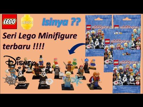LEGO SET 71024 DISNEY SERIE 2  POLYBAG FIGURINE MINIFIG LE MECHANT JAFAR ALLADIN
