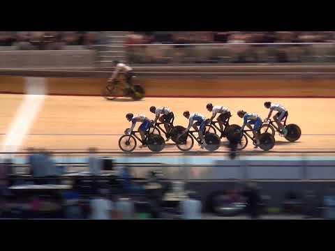 Men's Austral 2017 Finals Restart Crash