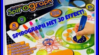 Unboxing en Demo: Spirograph Optical 3D Artist Set