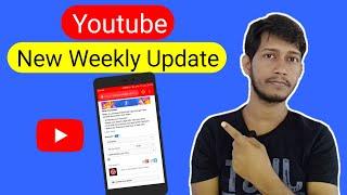 Youtube weekly Update ! Creator Studio/ Channel premieres /Channel membership / Community tab