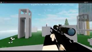 First Shot at SSN No-Scope Sniping (Roblox) +First Win!