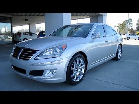 2011 Hyundai Equus Signature Start Up Exhaust Engine