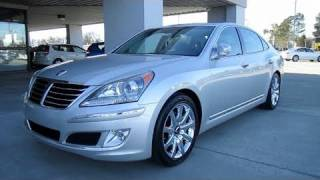 2011 Hyundai Equus Signature Start Up, Exhaust, Engine Details, In Depth Tour, and Brief Drive