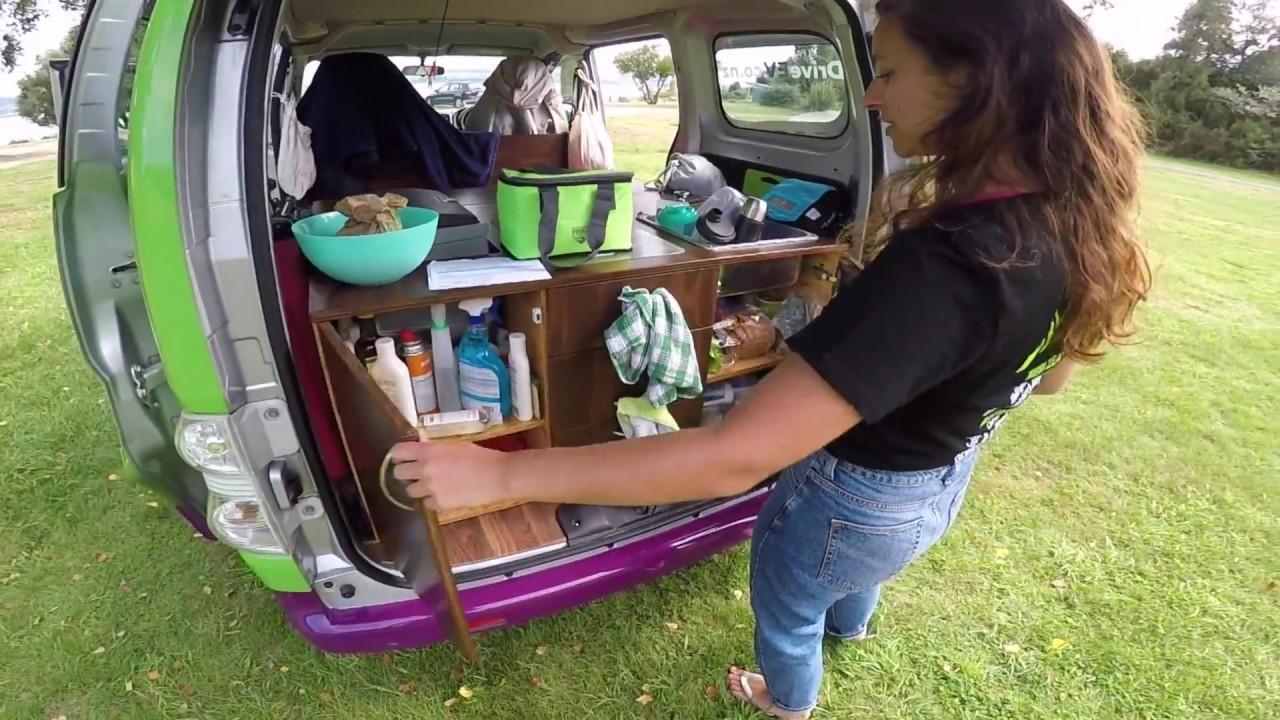 Electric Campervan Tour