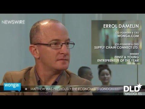 Dialogue - Errol Damelin (Co-Founder and CEO at Wonga.com) & Matthew Bishop | DLD12