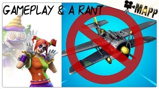 PEEKABOO SKIN Gameplay with a RANT! Balance the Planes or remove them! Fortnite
