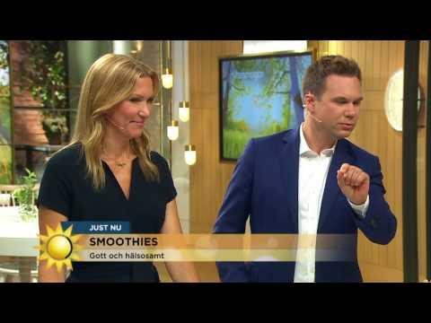 """Dietisten: """"En dag utan en smoothie är en förlorad dag"""" - Nyhetsmorgon (TV4)"""