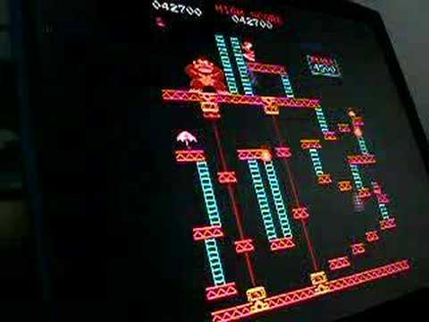35 perfect seconds of Donkey Kong