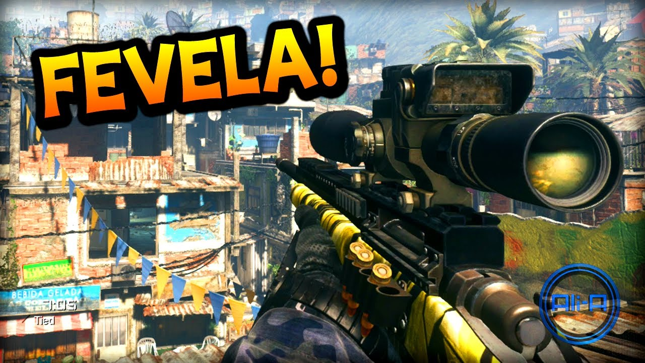 FAVELA GAMEPLAY!