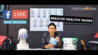 INFO SESSION about Breathe Healthy Masks