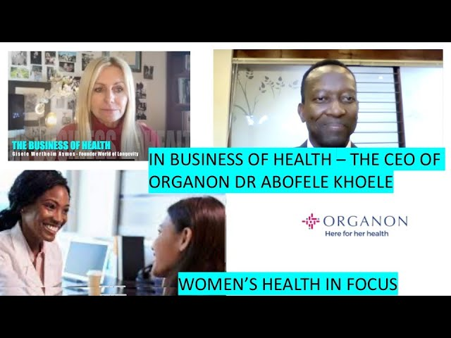 Recently launched Organon is the only company of its size focused exclusively on women's health.