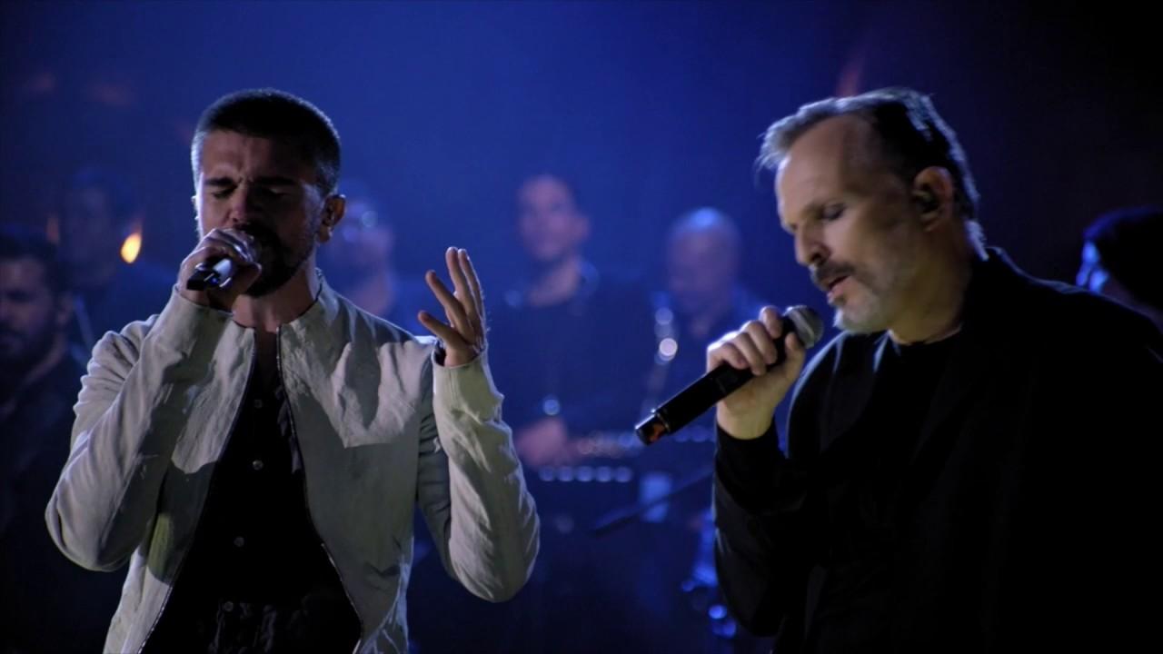 Miguel Bosé - Amiga (con Juanes) - MTV Unplugged (Videoclip Oficial)