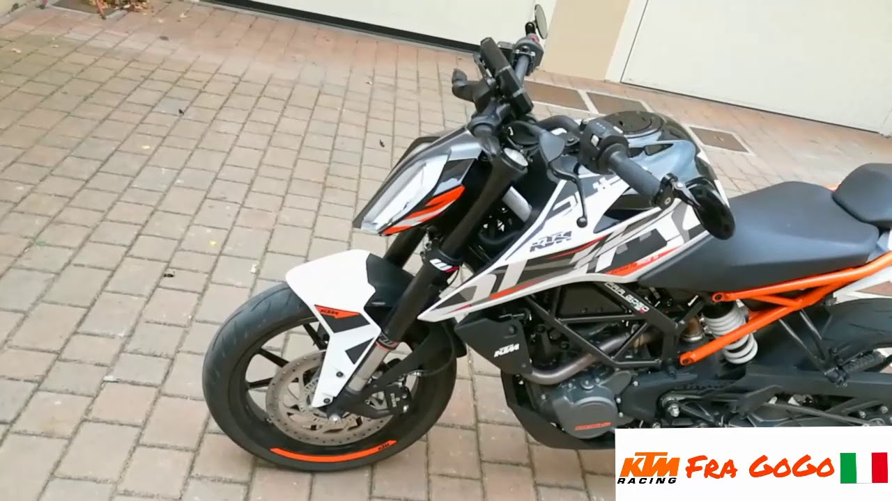 ktm duke 125 2017 tuning and powerparts modify youtube. Black Bedroom Furniture Sets. Home Design Ideas