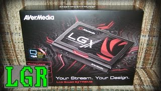 LGR - AVerMedia Live Gamer Extreme - Capture Device Review