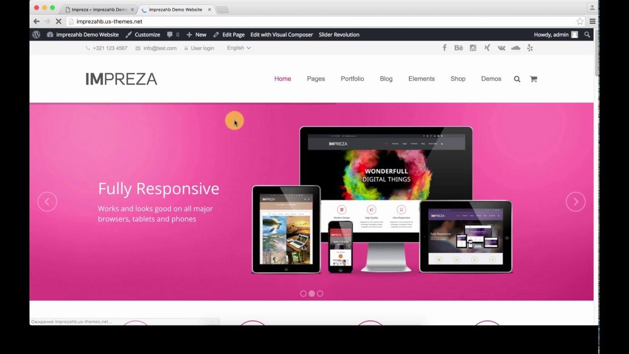 Header Builder for Impreza WordPress theme
