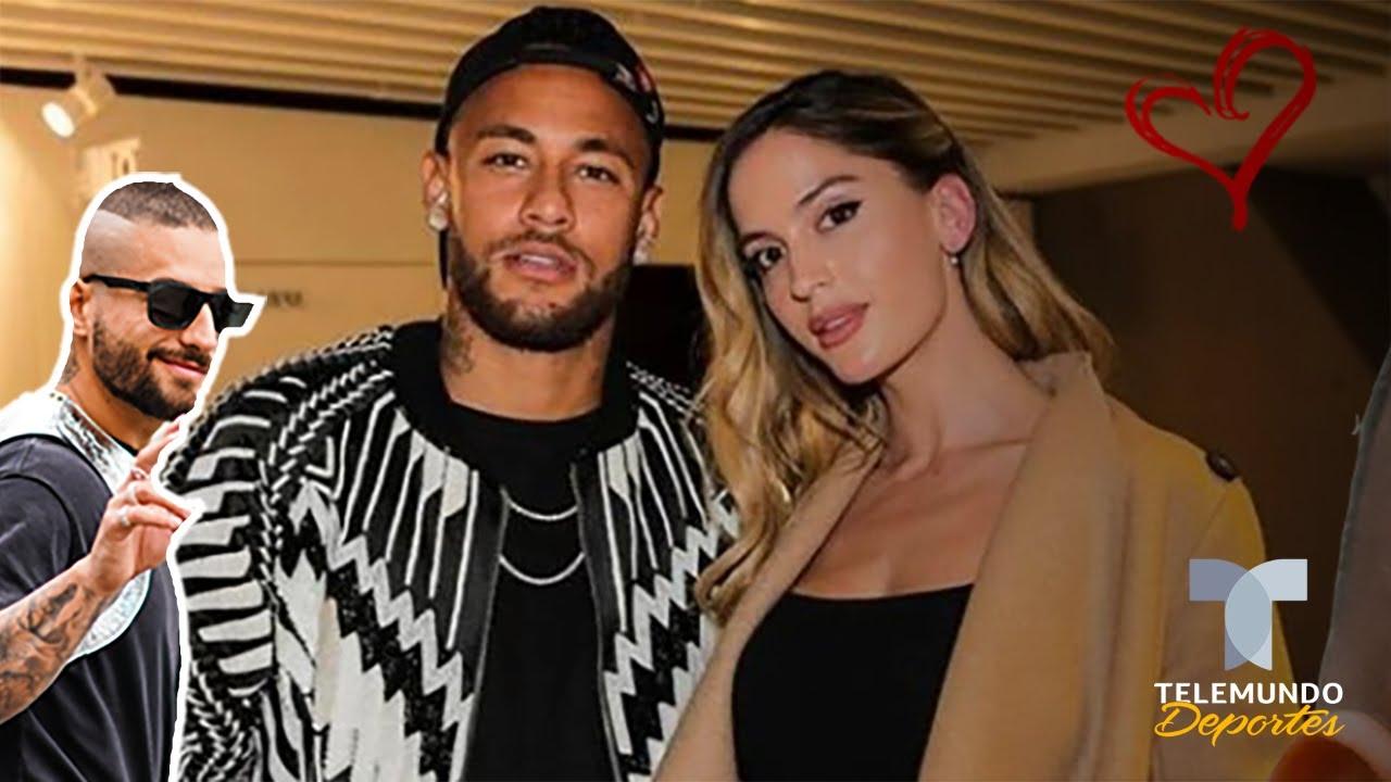 Le Ha Robado Neymar Jr La Novia A Maluma Telemundo Deportes