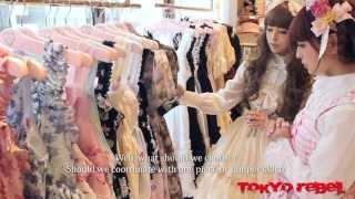 Misako Aoki and Midori Fukasawa tour Baby, the Stars Shine Bright's new store with Tokyo Rebel!