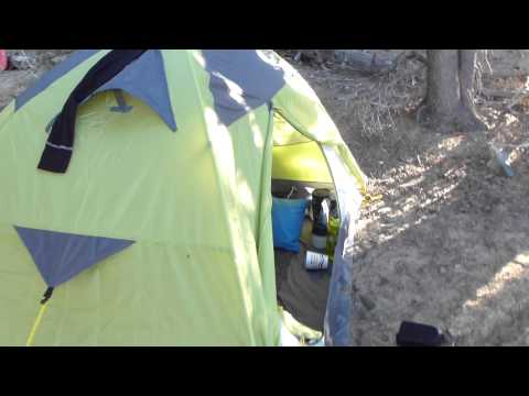Backpack Hunting Trip #36 Interior Morrison 2 man Tent