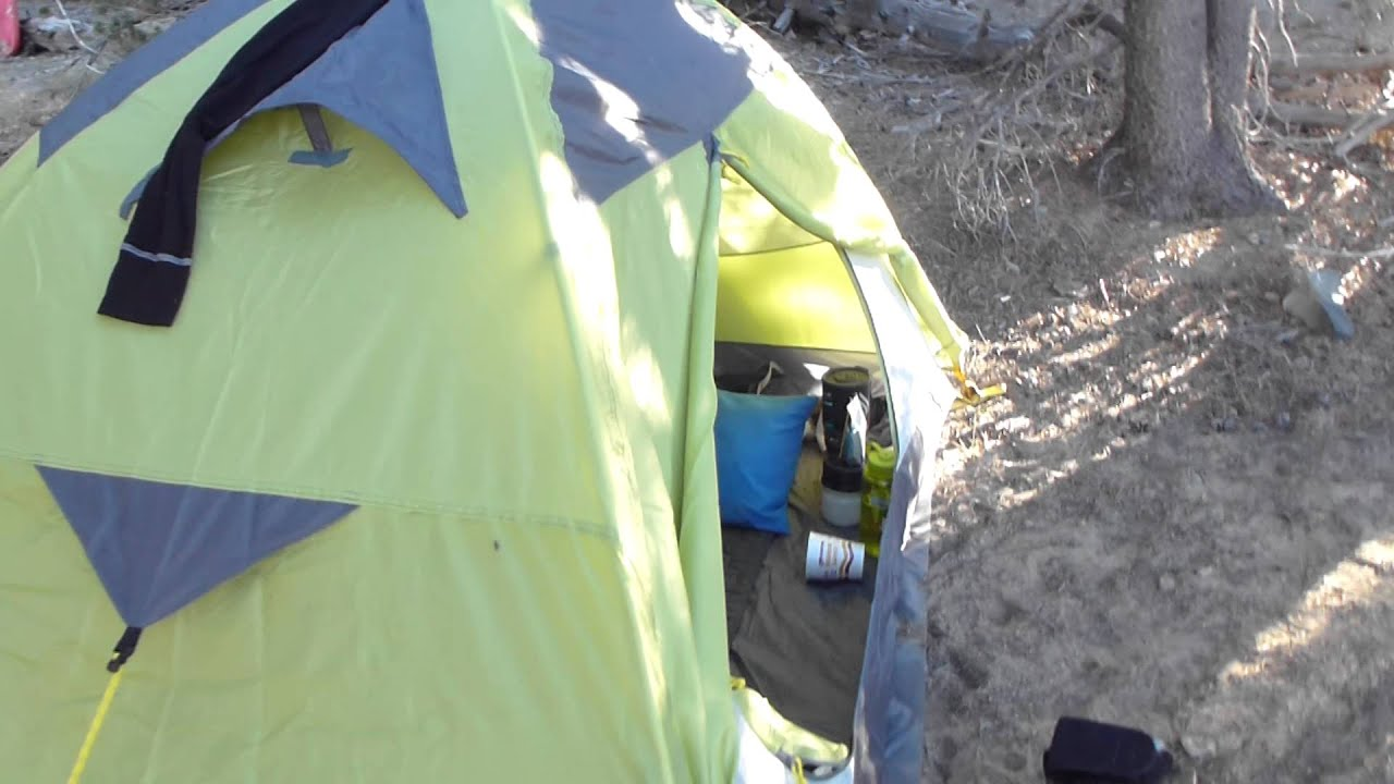 Backpack Hunting Trip #36 Interior Morrison 2 man Tent & Backpack Hunting Trip #36 Interior Morrison 2 man Tent - YouTube