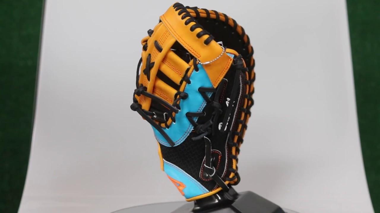 44 Pro Custom Baseball Gloves Miami Marlins Justin Bour ...