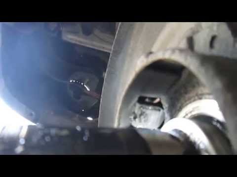 Nissan Brakes -- Clean ABS sensor and Tone Ring