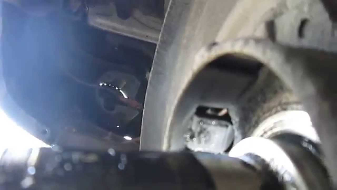 nissan brakes clean abs sensor  tone ring youtube