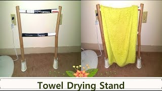 Cloth hanging stand using paper/My afternoon to evening routine vlog/USA/Adisal