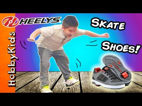 Heelys SKATE Shoes Review with