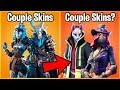 10 FORTNITE SKINS YOU DIDN'T KNOW ARE COUPLES! (duo fortnite skins)